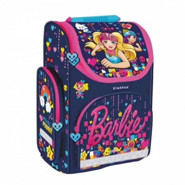Taška - Barbie, školní, dívčí, tmavomodrá
