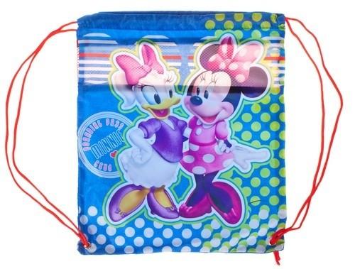 Batoh - Minnie Mouse stahovací, školní, barevný