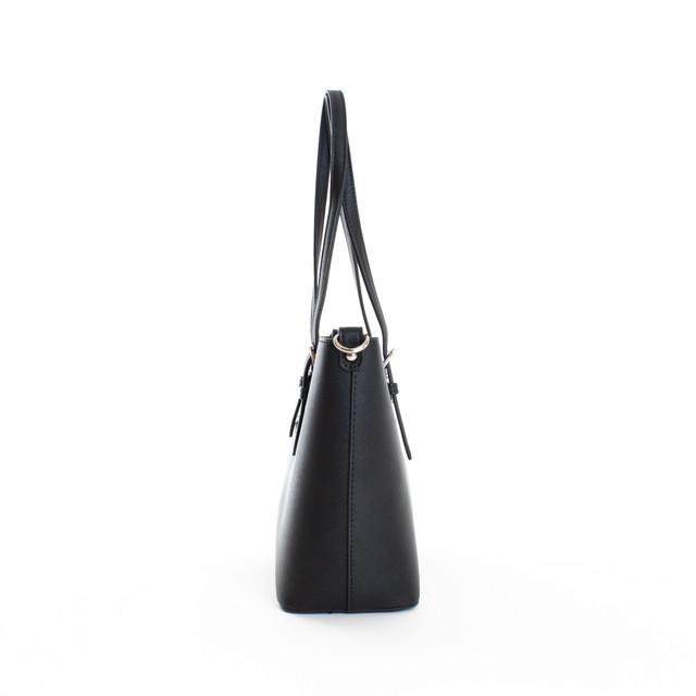 Kabelka - Flora střední na rameno elegantní, černá