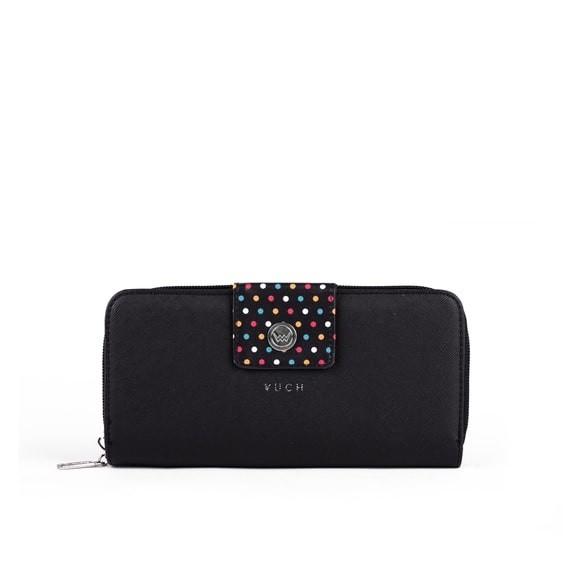 Peněženka - Judy Jasmine, black dots, černá