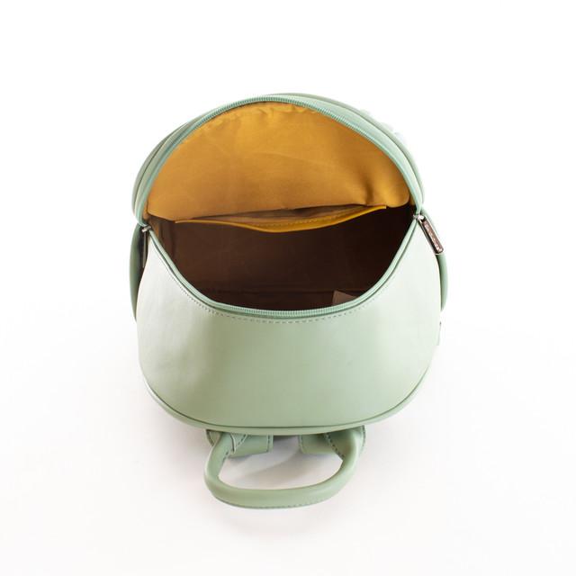 Batoh - prošívaný s doplňky DJ, zelený