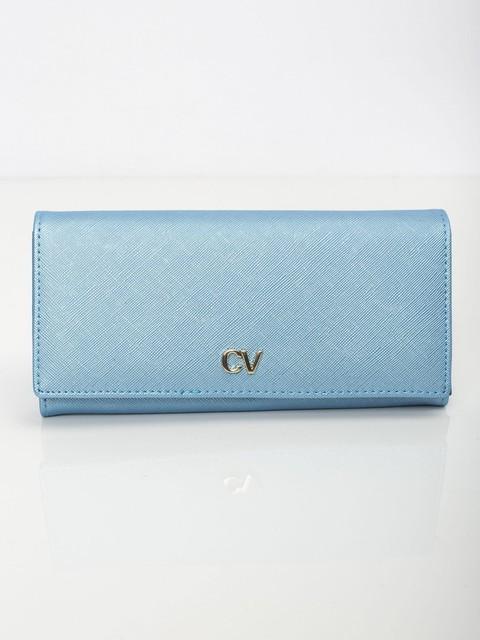 Peněženka - Saffiano koženková modrá