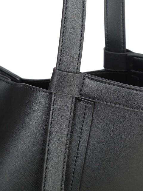 Kabelka - na rameno Luigisanto s mašlí, černá