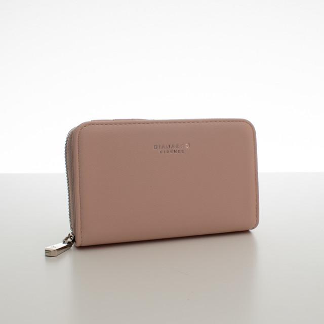 Peněženka - do kabelky elegantní Diana, růžová