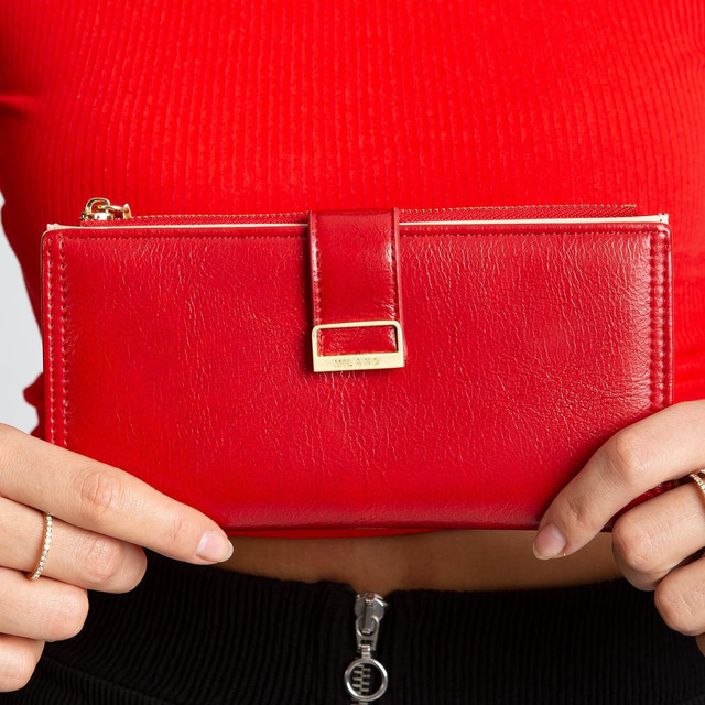 Peněženka - Milano design elegantní červená