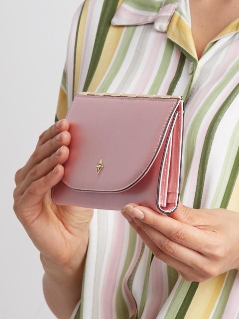 Peněženka - tenká Milano design růžová