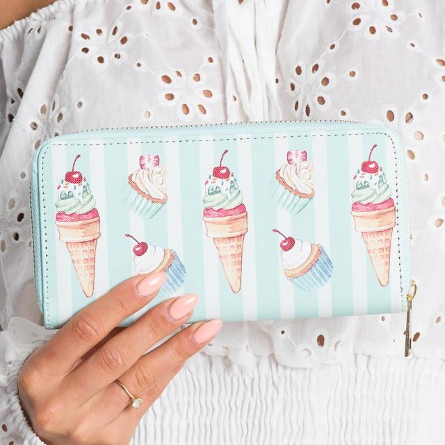 Peněženka - zmrzlina mentolová