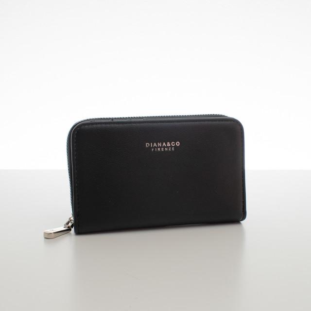 Peněženka - do kabelky elegantní Diana, černá