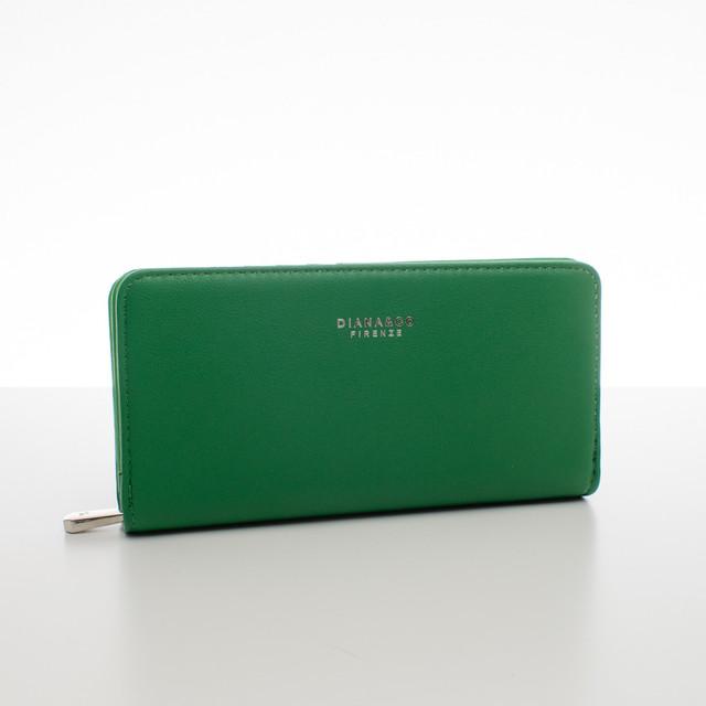 Peněženka - elegantní Diana do kabelky, zelená