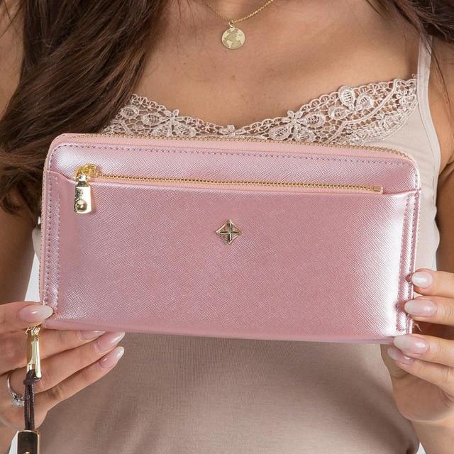 Peněženka - na ruku Milano design růžová