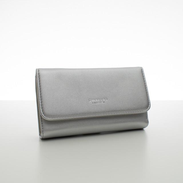 Peněženka - dámská Diana koženková, stříbrná
