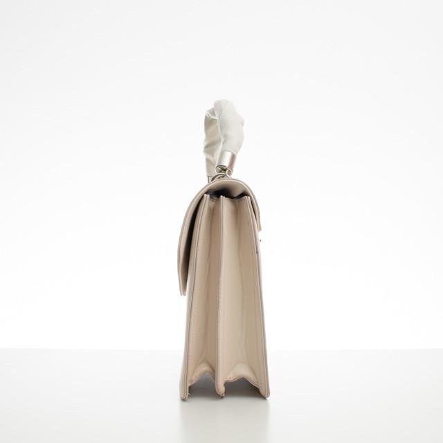 Kabelka - aktovka Diana s rukojetí béžová