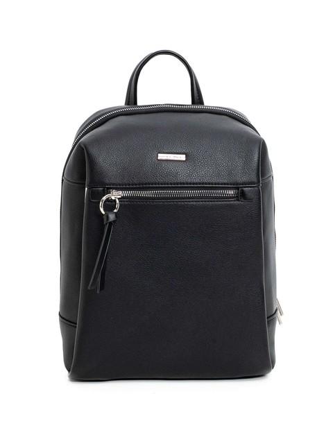 Batoh - koženkový Luigisanto městský, černý