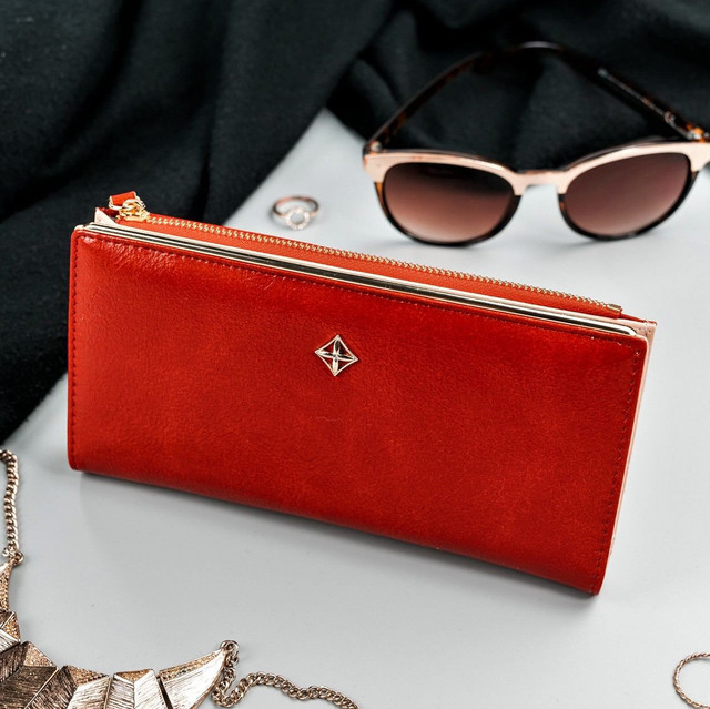 Peněženka - dámská Milano design koženková, červená