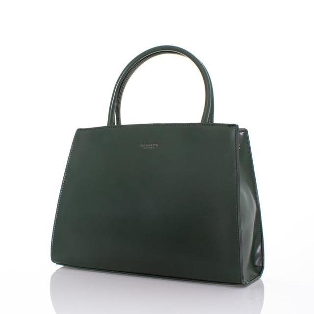 Kabelka - luxusní elegantní do ruky Diana zelená