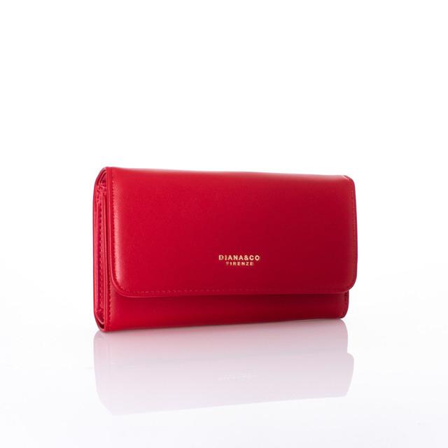 Peněženka - podzim Diana koženková červená
