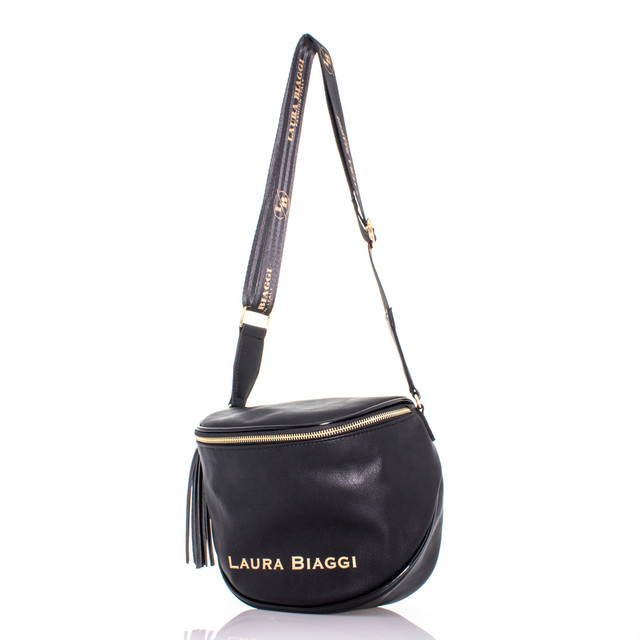 Kabelka - L Biaggi na rameno s doplňky černá