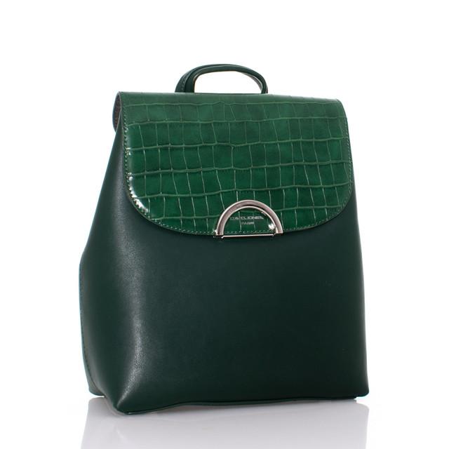 Batoh - David Jones vzorovaný zelený