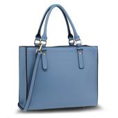 Kabelka - Irma, elegantní do ruky, modrá