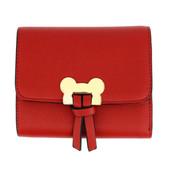 Peněženka - Mickey mini eko kožená s doplňky, červená