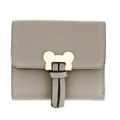 Peněženka - Mickey mini eko kožená s doplňky, šedá