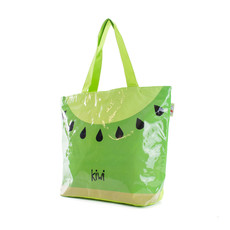 Taška - ovocná plážová kiwi, zelená