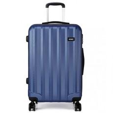 Set kufrů - tři kusy kufrů na cestování, unisex, tmavomodré