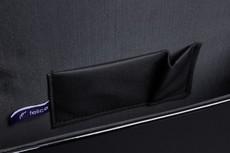 Kabelka - flap Felice společenská, černá