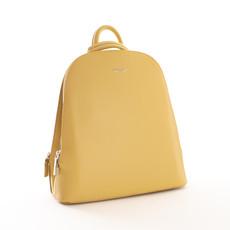 Batoh - dvouzip Diana, žlutý