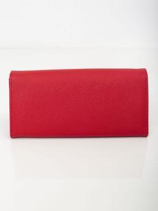 Peněženka - Saffiano koženková červená
