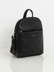 Batoh - koženkový Luigisanto, černý