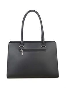 Kabelka - koženková elegantní, černá