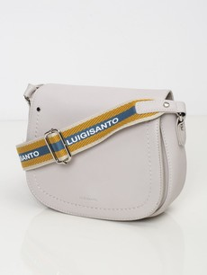 Kabelka - crossbody saddle Luigisanto, šedá