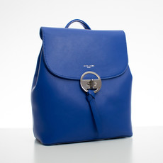 Batoh - elegantní s doplňky David Jones, modrý