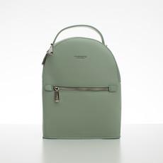 Batoh - malý koženkový Diana s doplňky, zelený