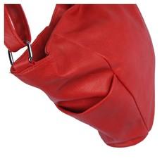 Kabelka - Violka na rameno červená