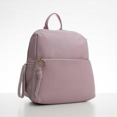 Batoh - koženkový s doplňky Diana, fialový