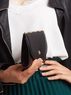 Peněženka - tenká střední Milano design černá