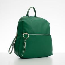 Batoh - koženkový s doplňky Diana, zelený