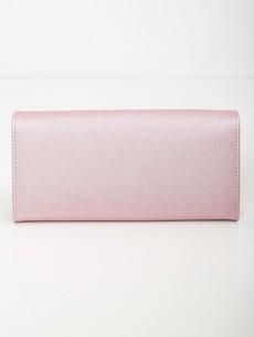 Peněženka - saffiano na druk, růžová