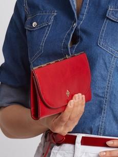 Peněženka - tenká Milano design červená