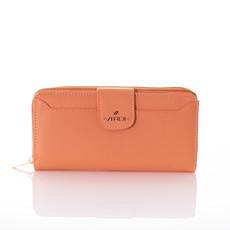 Peněženka - koženková Verde oranžová