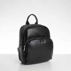 Batoh - medium David Jones koženkový, černý