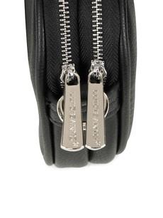 Kabelka - crossbody Luigisanto dvouzip černá