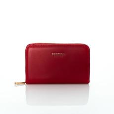 Peněženka - střední podzimní Diana červená