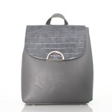 Batoh - David Jones vzorovaný šedý